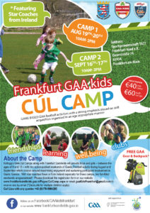 Cúl Camp @ Sportgemeinschaft 1877 Frankfurt-Nied e.V.  | Frankfurt am Main | Hessen | Germany